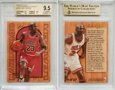 1995-96 Fleer Flair Hardwood Leaders #4 Michael Jordan BGS 9.5 GEM MINT 90s SP