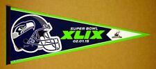 2014 Seattle Seahawks Nfc Champions Football Super Bowl 49 Pennant