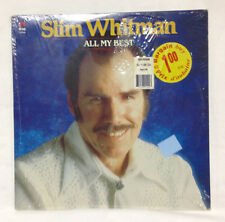 Slim Whitman - ALL MY BEST - LP- NEW, In Original Wrap, Never played!