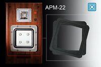 2XQuadrat Reparatur Sicke Schaumstoff Subwoofer Membran SONY APM-22 適合