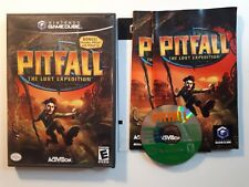 Pitfall : The Lost Expedition - ( Nintendo Gamecube ) Complete W/box & Manual !
