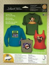 Jolee's Easy Image 2 Transfer Sheets for Colored Fabrics **NEW in Opened Pckg**.
