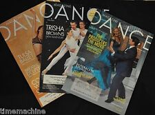 Dance Magazine Issues December March April 2005