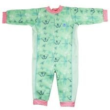 Splash About Warm in One Wetsuit Baby Toddler Swim and Matching Happy Nappy Large 6-12m Dragonfly