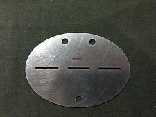 WW2 Steel German ID DOG TAG ( Repro )