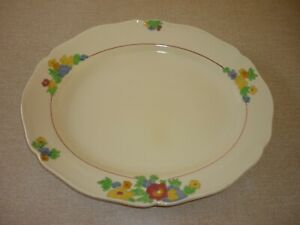 Royal Doulton Minden Oval Serving Plate Platter 28.5cm x 23.5cm
