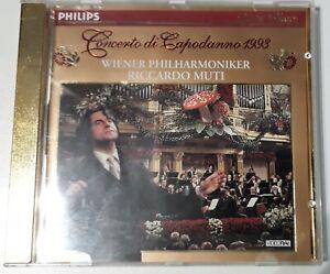 RICCARDO MUTI CONCERTO DI CAPODANNO 1993  CD WIENER PHILHARMONIKER
