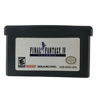 Final Fantasy IV 4 Advance (Nintendo Game Boy Advance) Tested Authentic Saves