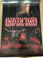 End of Days Kinoplakat Poster A1, Arnold Schwarzenegger, Gabriel Byrne