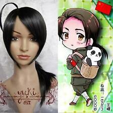 Axis Powers Hetalia APH Chine wangyao, Noir Long Straight Cosplay Party perruque de cheveux