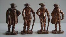Ferrero Metallfiguren Französische musketiere kupfer RP1482 patent 40mm
