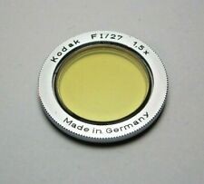Kodak Retina FI/27 21,5 21.5 mm light yellow filter