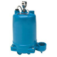 "Submersible Effluent Pump - 1.5 HP - 200 V - 2"" Port - 1 PH - 140 GPM - Solids"