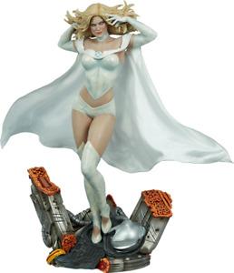Marvel x-Men Emma Frost premium format figure Sideshow Collectibles statue