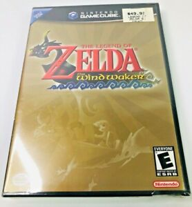 Legend of Zelda: The Wind Waker Brand New in wrapper GameCube