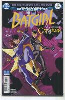 Batgirl #13 NM Rebirth Guest-Catwoman DC Comics CBX7A