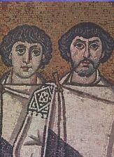 Arte antiguo tarjeta postal-San Vitale-clérigos