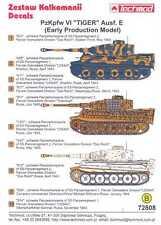 Techmod Decals 1/72 German PzKpfw VI TIGER E EARLY PRODUCTION