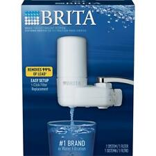 Brita Tap Water Filter System, Water Faucet Filtration System with Filter Change