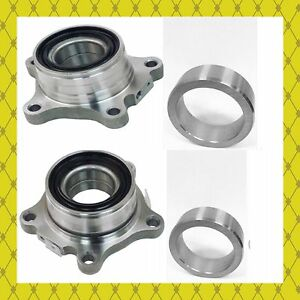 REAR WHEEL BEARING MODULE W/RETAINER FOR 2007-2016 TOYOTA TUNDRA PAIR