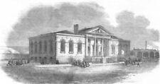 LONDON. Lambeth Ragged Schools, opened on Wednesday, antique print, 1851