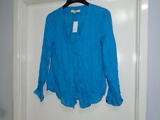 WOMENS ANN TAYLOR LOFT RAYON/COTTON LONG SLEEVE SHIRT SIZE MEDIUM $54.50