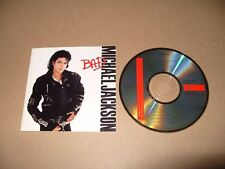 Michael Jackson Bad 11 Track cd 1987 Japan cd 32 8P-200 Excellent Condition