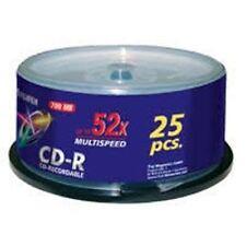 Fuji FujiFilm Blank CD-R X25 700MB 52-Speed Spindle