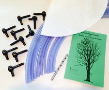 10 Tree Maple Tapping Starter Kit *Free Shipping* Sap Collecting, Syrup Making