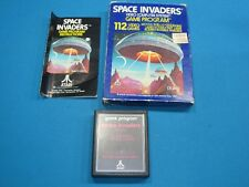 SPACE INVADERS - COMPLETE IN BOX - ATARI 2600