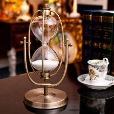 60 minute Rolating Sand Hourglass Sandglass Sand Timer Clock home Decor Gift