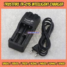 TRUSTFIRE TR-015 CARICABATTERIE 4.2v 3.0v PER BATTERIE 18650 LITIO 14500 + USB