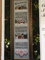 THE VICTORIA SAMPLER Carol Singers Sampler by Thea Dueck #113 2009