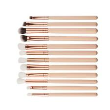 12pcs Makeup Brushes Set Foundation Powder Eyeshadow Eyeliner Lip Brush Tool Y