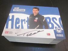 48820 Rene Tretschok Hertha BSC 2011-2012 original signierte Autogrammkarte