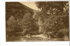 CPA Carte Postale-Belgique-Houyet Confluent de la Lesse et l'Iwoigne -1927- VM