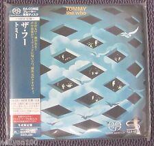 "THE WHO ""TOMMY"" JAPAN Mini LP SHM-SACD DSD 2012 *SEALED*"