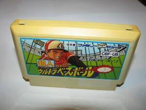 Choujin Ultra Baseball Famicom NES Japan import US Seller