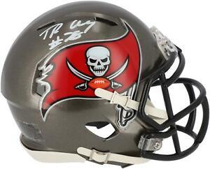 Tristan Wirfs Tampa Bay Buccaneers Signed Riddell 2020-Present Speed Mini Helmet