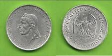 2 Reichsmark Friedrich von  Schiller 1934 J 358