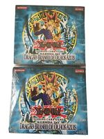 YuGiOh (x2) Legend Of Blue Eyes White Dragon 1st Edition Booster Box Portuguese