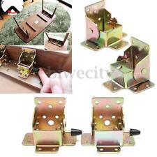 4Pcs Set Folding Bracket Folding Table Leg Furniture Brackets With Lock/unlock