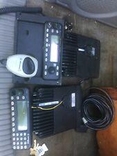 2 motorola mcs2000 Mobile Radios Uhf and 800 Mhz