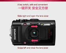 Black Lens Cap better protection lens for OLYMPUS Tough TG1/TG2/TG3/TG4/TG5