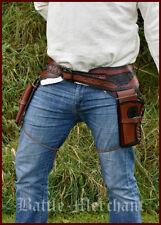 Westernholster Revolvergürtel Revolver Holster Cowboy Western Pistolengürtel