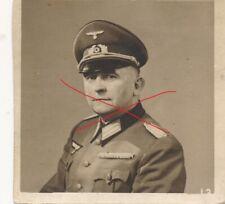 Nr. 29580 Porträt Foto 2,Wk Deutscher Offizier Ordensband 7 x 7,5 cm