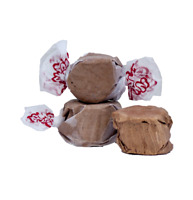 GOURMET CHOCOLATE Salt Water Taffy Candy TAFFY TOWN 1/4 LB  to 10 LB BAG