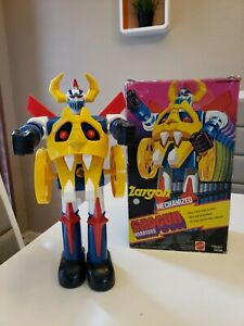 1978 Mattel Shogun Warriors Jumbo Zargon With Box Mechanized