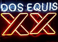 """Dos Equis Xx 20""""x16"""" Neon Sign Light Lamp Beer Bar With Dimmer"""