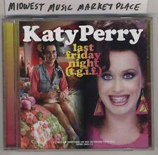 Katy Perry - last friday night (t.g.i.f.) - Rare 2010 Promo CD Single - MINT!!!!